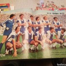 Coleccionismo deportivo: POSTER ESPAÑOL 1980 -81. 1A DIVISIÓN. DON BALON 1980.. Lote 176870697