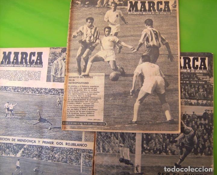 LOTE 3 MARCA DE 1963 (Coleccionismo Deportivo - Revistas y Periódicos - Marca)
