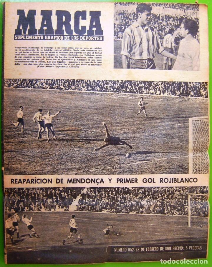 Coleccionismo deportivo: LOTE 3 MARCA de 1963 - Foto 2 - 177012893