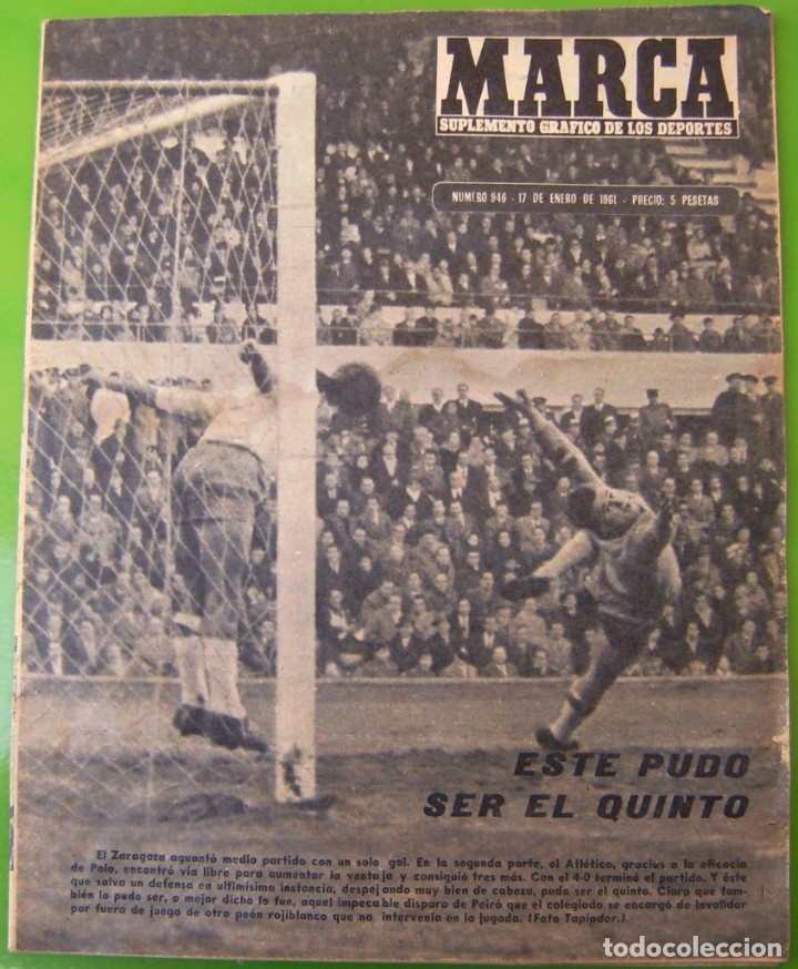 Coleccionismo deportivo: LOTE 3 MARCA de 1963 - Foto 4 - 177012893