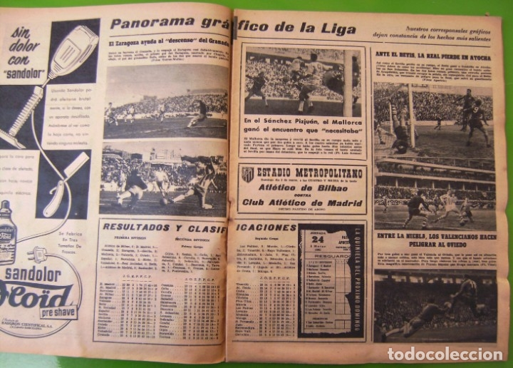 Coleccionismo deportivo: LOTE 3 MARCA de 1963 - Foto 6 - 177012893