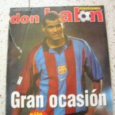 Coleccionismo deportivo: REVISTA DON BALON N,1396 AÑO 2002. Lote 177060782