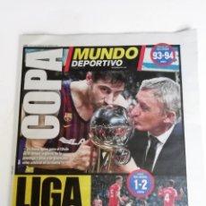 Coleccionismo deportivo: MUNDO DEPORTIVO, F.C. BARCELONA GANA LA COPA DEL REY DE BALONCESTO 2019. Lote 177087660