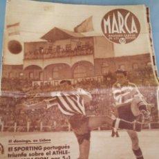 Coleccionismo deportivo: MARCA PERIODICO DEPORTIVO. 1940. N°83. Lote 177188193
