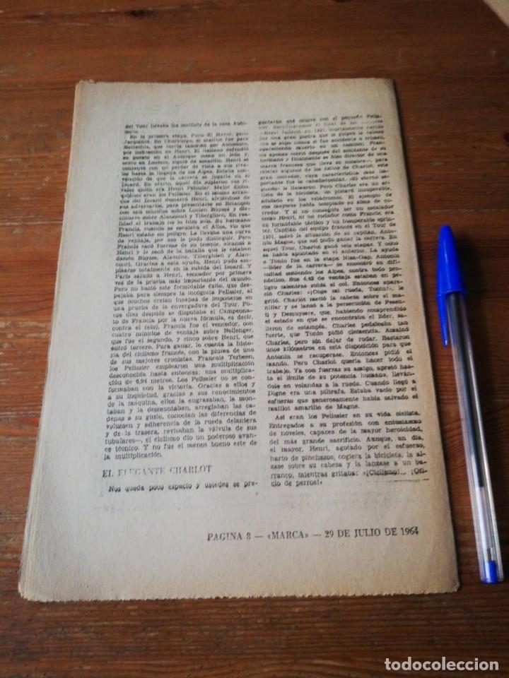 Coleccionismo deportivo: 40 días, 40 Ases, 40 biografias. Henri, Francis y Charles Pelissier. Los tres mosqueteros - Foto 2 - 177279142