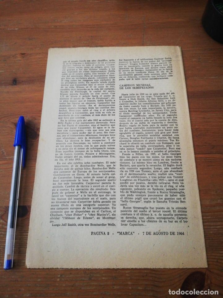 Coleccionismo deportivo: 40 días, 40 Ases, 40 biografias. Carpentier. El Bello Georges - Foto 2 - 177283669