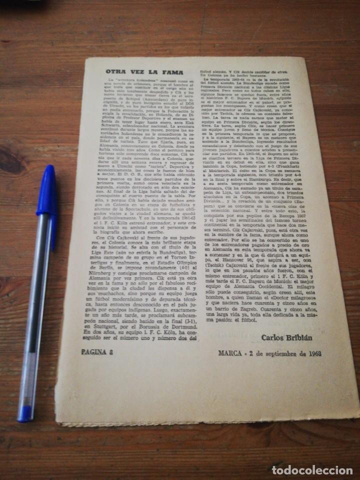 Coleccionismo deportivo: 40 días, 40 Ases, 40 biografias. Tschik Cajkovski. Una vida para el fútbol. - Foto 2 - 177285915