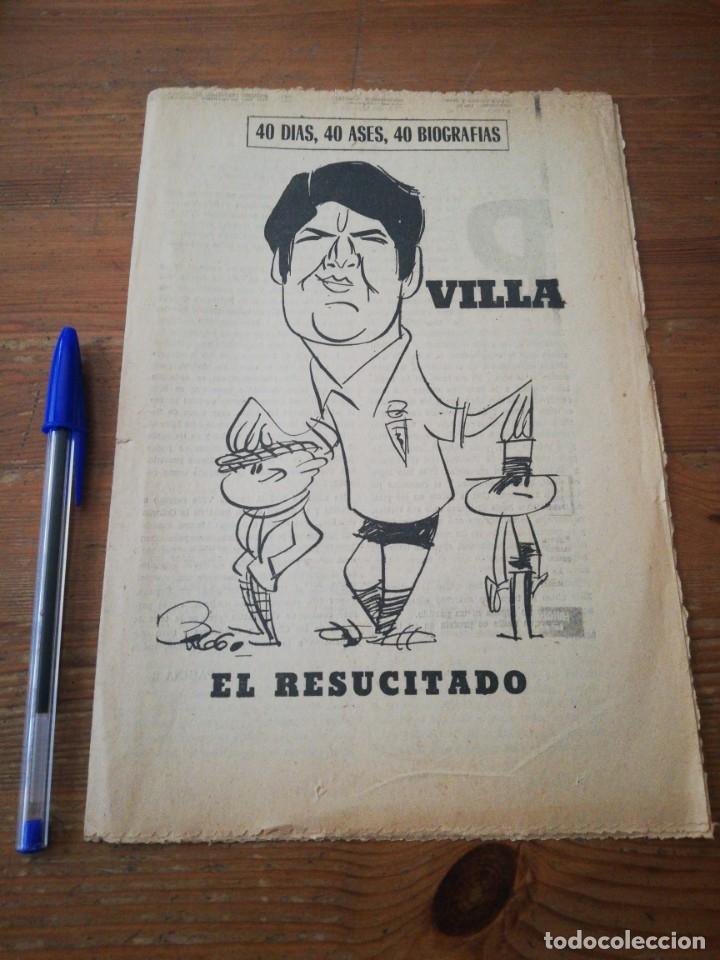40 DÍAS, 40 ASES, 40 BIOGRAFIAS. VILLA. EL RESUCITADO. (Coleccionismo Deportivo - Revistas y Periódicos - Marca)