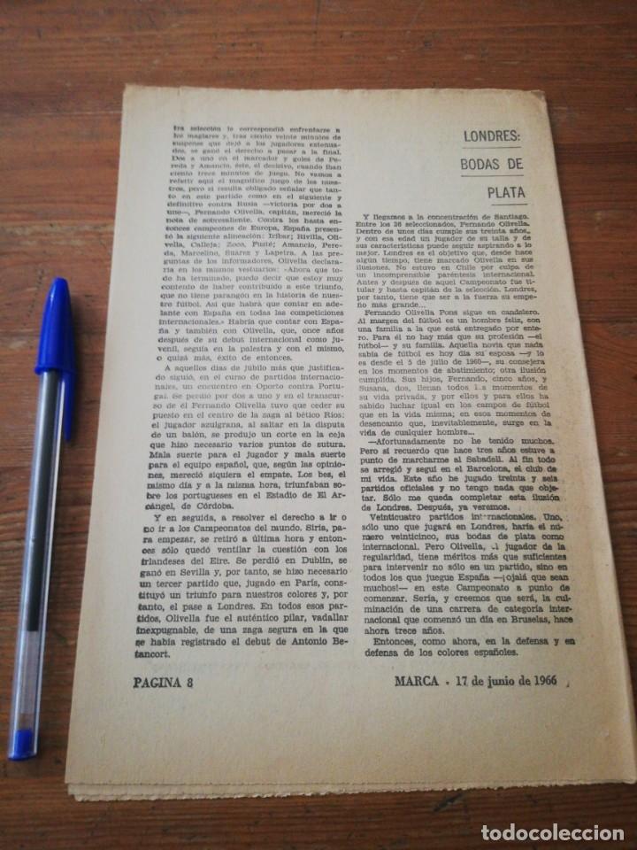 Coleccionismo deportivo: 40 días, 40 Ases, 40 biografias. Olivella. Capitan 1954 - Foto 2 - 177286952
