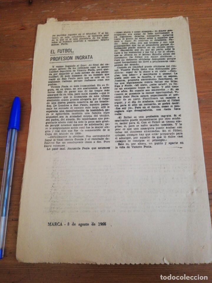 Coleccionismo deportivo: 40 días, 40 Ases, 40 biografias. Vicente Feola. El eterno organizador. - Foto 2 - 177287640