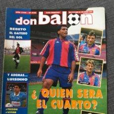 Coleccionismo deportivo: FÚTBOL DON BALÓN 926 - PÓSTER MIJATOVIC - BARÇA - BEBETO DEPORTIVO - CELTA- NAYIM ZARAGOZA - DASSAEV. Lote 177495633