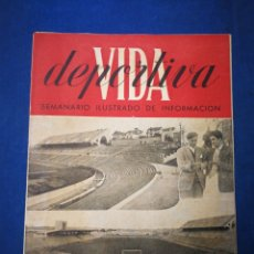 Coleccionismo deportivo: REVISTA VIDA DEPORTIVA- XVI ESPAÑA-PORTUGAL (7 MAYO 1945).. Lote 177601129