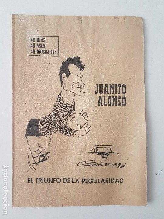 Coleccionismo deportivo: LOTE 38 BIOGRAFIAS MARCA. 40 dias,40 ases,40 biografias - Foto 2 - 177627017