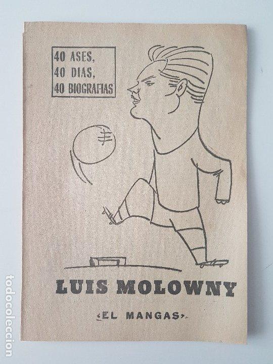 Coleccionismo deportivo: LOTE 38 BIOGRAFIAS MARCA. 40 dias,40 ases,40 biografias - Foto 9 - 177627017
