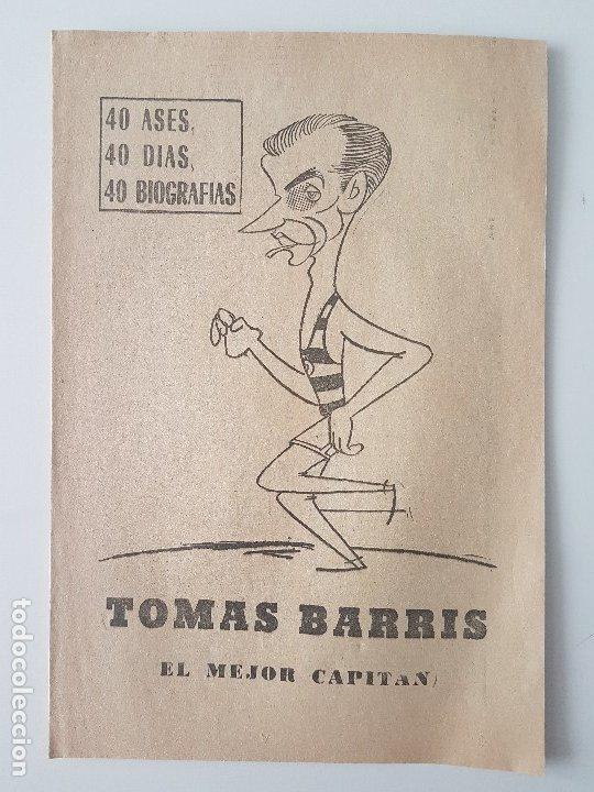 Coleccionismo deportivo: LOTE 38 BIOGRAFIAS MARCA. 40 dias,40 ases,40 biografias - Foto 11 - 177627017