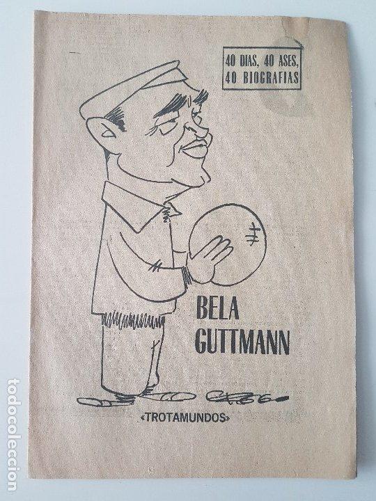 Coleccionismo deportivo: LOTE 38 BIOGRAFIAS MARCA. 40 dias,40 ases,40 biografias - Foto 17 - 177627017