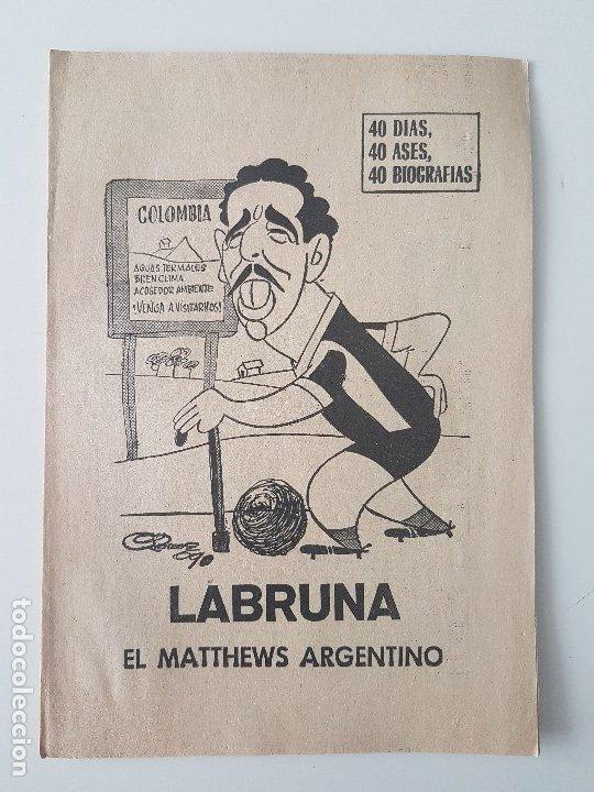 Coleccionismo deportivo: LOTE 38 BIOGRAFIAS MARCA. 40 dias,40 ases,40 biografias - Foto 27 - 177627017
