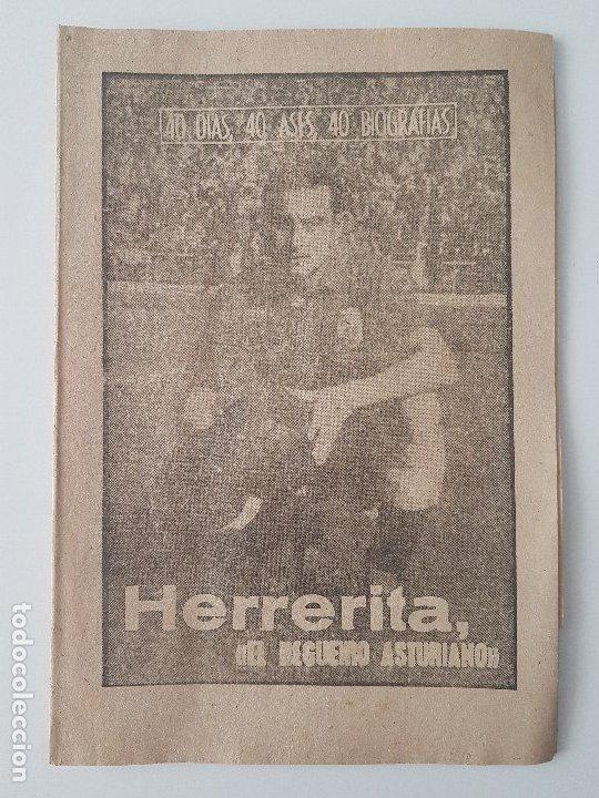 Coleccionismo deportivo: LOTE 38 BIOGRAFIAS MARCA. 40 dias,40 ases,40 biografias - Foto 39 - 177627017