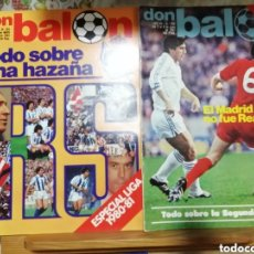 Coleccionismo deportivo: REVISTAS DON BALON AÑO 1981. LOTE DE EXTRAS ESPECIALES ÚNICO.. Lote 177690925
