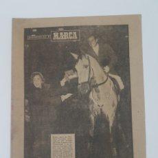 Coleccionismo deportivo: BIOGRAFIA GOYOAGA. MARCA. AÑO 1953. Lote 177696834