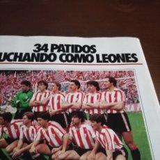 Coleccionismo deportivo: DON BALON. ATLETIC CAMPEÓN COPA. 1984. ESPECIAL.. Lote 177837482