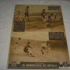 Coleccionismo deportivo: VIDA DEPORTIVA N.393, MARZO 1953. EL VALENCIA SIGUE LIDER.. Lote 177850795