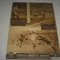 Coleccionismo deportivo: VIDA DEPORTIVA N. 388. FEBRERO 1953. KUBALA FIRMO EL SABADO. GOL EN MESTALLA Y LAS CORTS. Lote 177850930