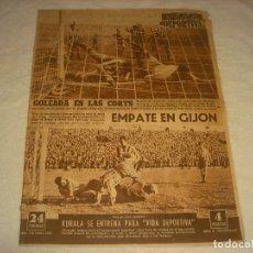 Coleccionismo deportivo: VIDA DEPORTIVA N.387.FEBRERO 1953. EMPATE EN GIJON, GOLEADA EN LAS CORTS... Lote 177851017
