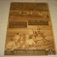 Coleccionismo deportivo: VIDA DEPORTIVA N.386. EL MADRID VENCIO EN SARRIA. TODO EL BARCELONA ANTE LA PUERTA DEL MALAGA.... Lote 177851159