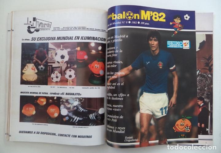 Coleccionismo deportivo: REVISTA DON BALON M82 CONTIENE 4 EXTRAS N 5 6 7 Y 8 MUNDIAL 82 - Foto 3 - 177939037
