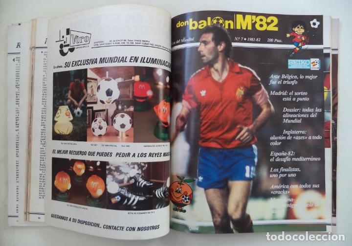 Coleccionismo deportivo: REVISTA DON BALON M82 CONTIENE 4 EXTRAS N 5 6 7 Y 8 MUNDIAL 82 - Foto 5 - 177939037