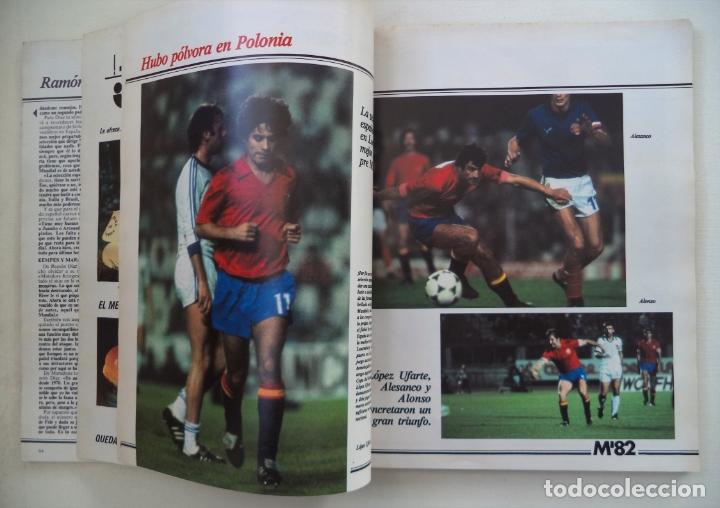 Coleccionismo deportivo: REVISTA DON BALON M82 CONTIENE 4 EXTRAS N 5 6 7 Y 8 MUNDIAL 82 - Foto 8 - 177939037