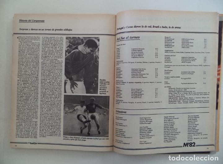 Coleccionismo deportivo: REVISTA DON BALON M82 CONTIENE 4 EXTRAS N 5 6 7 Y 8 MUNDIAL 82 - Foto 10 - 177939037