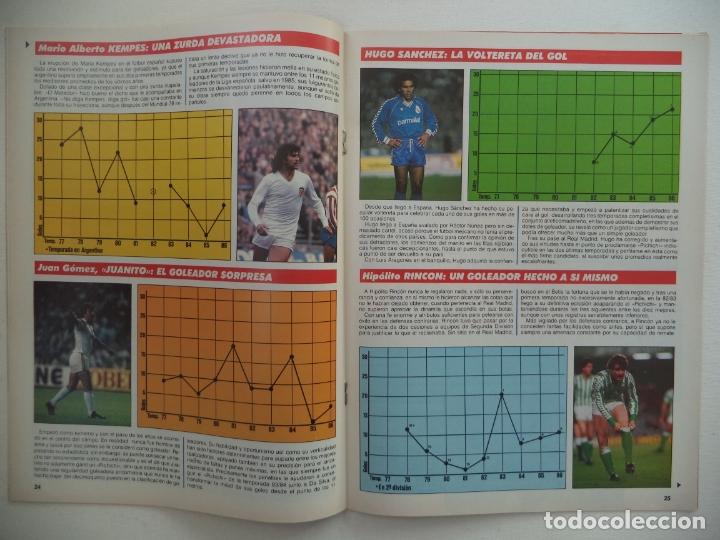 Coleccionismo deportivo: REVISTA DON BALON Nº 584 DEL 23 AL 29 DE DICIEMBRE DE 1986 BUTRAGUEÑO STRIP-TEASE - Foto 3 - 177944699