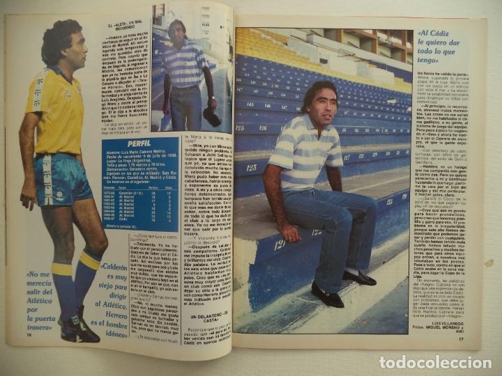 Coleccionismo deportivo: REVISTA DON BALON Nº 584 DEL 23 AL 29 DE DICIEMBRE DE 1986 BUTRAGUEÑO STRIP-TEASE - Foto 4 - 177944699