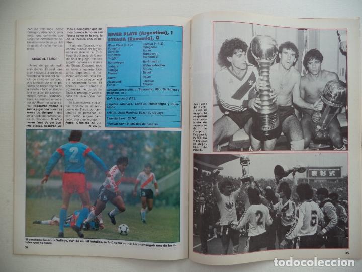 Coleccionismo deportivo: REVISTA DON BALON Nº 584 DEL 23 AL 29 DE DICIEMBRE DE 1986 BUTRAGUEÑO STRIP-TEASE - Foto 5 - 177944699