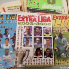 Coleccionismo deportivo: EXTRAS LIGAS DON BALON 2001 AL 2006. LOTE DE 5 SEGUIDAS.. Lote 177968352