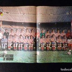 Coleccionismo deportivo: AS COLOR. Nº 2, 1971. POSTER C. ATLÉTICO DE MADRID. REXACH SALVO EL HONOR ESPAÑOL. PUSKAS EL MEJOR... Lote 178041819