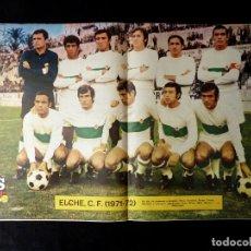 Coleccionismo deportivo: AS COLOR. Nº 29, 1971. POSTER ELCHE C.F.. OROZCO, REY DEL GOL .... Lote 178042154