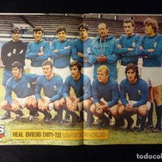 Coleccionismo deportivo: AS COLOR. Nº 33, 1972. POSTER REAL OVIEDO. VELAZQUEL, EL MEJOR. MUÑOZ-MERKEL, LA PARTIDA DEL AÑO.... Lote 178042600