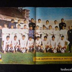 Coleccionismo deportivo: AS COLOR. Nº 44, 1972. POSTER CLUB DEPORTIVO MESTALLA. REFERENDUM CON VICTORIA. TRACA MADRIDISTA. Lote 178043122