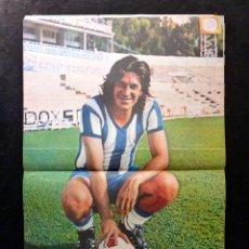 Coleccionismo deportivo: AS COLOR. Nº 75, 1972. POSTER SEBASTIAN HUMBERTO VIBERTI. EMPATE SIN ALEGRIA. Lote 178043714