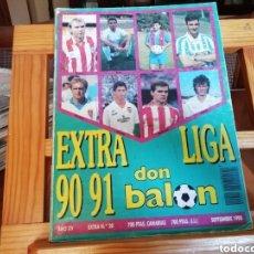 Coleccionismo deportivo: DON BALON EXTRA LIGA 1990 -91.. Lote 178071442