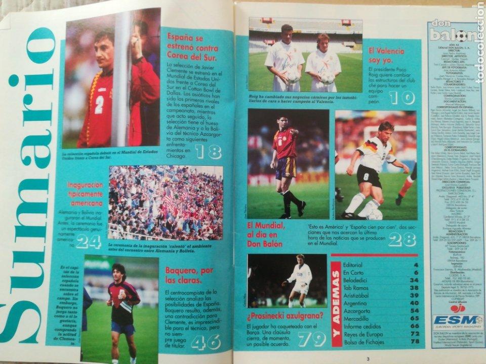 Coleccionismo deportivo: Don Balón N°973 - Foto 2 - 178108458