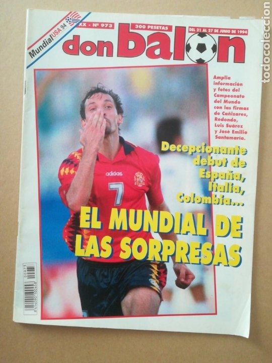 DON BALÓN N°973 (Coleccionismo Deportivo - Revistas y Periódicos - Don Balón)