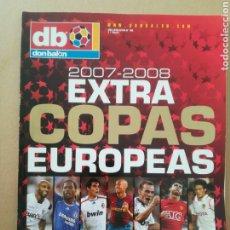 Coleccionismo deportivo: DON BALÓN EXTRA COPAS EUROPEAS 2007-2008. Lote 178109574