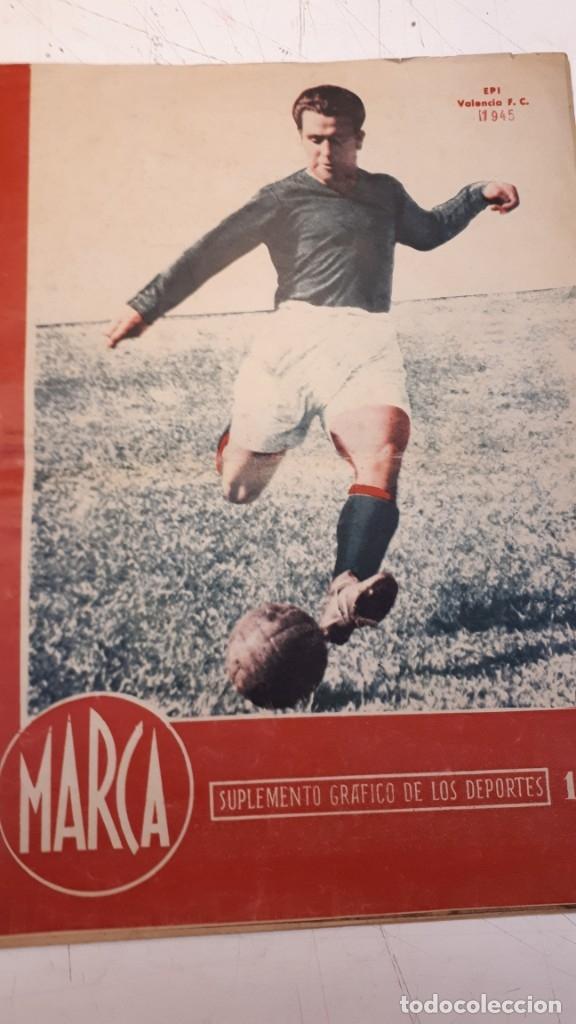 REVISTA MARCA 1945, EPI. VALENCIA F. C. (Coleccionismo Deportivo - Revistas y Periódicos - Marca)