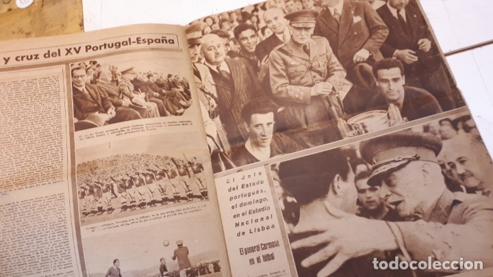 Coleccionismo deportivo: Revista Marca 1945, Epi. Valencia F. C. - Foto 4 - 178227876
