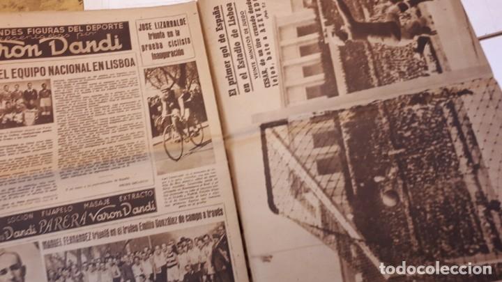 Coleccionismo deportivo: Revista Marca 1945, Epi. Valencia F. C. - Foto 5 - 178227876