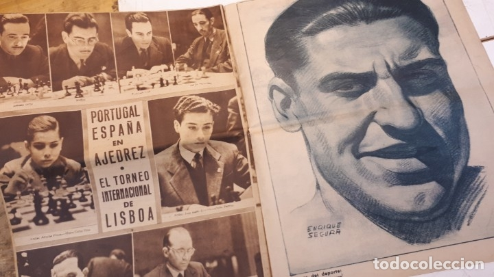 Coleccionismo deportivo: Revista Marca 1945, Epi. Valencia F. C. - Foto 6 - 178227876